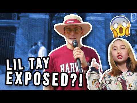 ASKING HARVARD STUDENTS WHAT THEY THINK ABOUT LIL TAY!! thumbnail