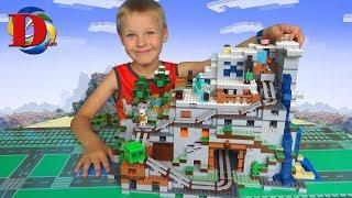 МИР МАЙНКРАФТ / MINECRAFT WORLD / САМОДЕЛКА как LEGO – набор Горная пещера