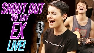 """SHOUT OUT TO MY EX"" LITTLE MIX COVER BY LISA CIMORELLI & WESLEY STROMBERG