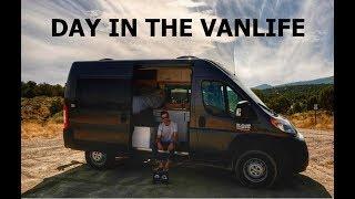 DAY IN THE VANLIFE || AFFORDABLE CUSTOM CAMPER VAN