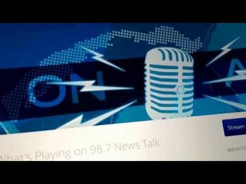 Noël Roberts on Hallerin Hilton Hill NewsTalk 98.7