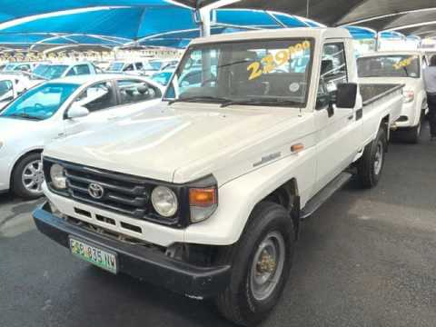 2006 Toyota Landcruiser Pickup Auto For Sale On Auto Trader South