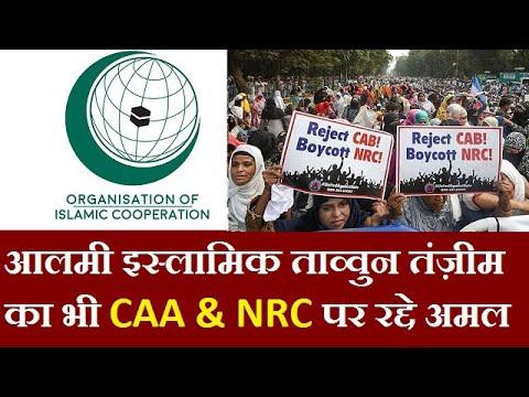 ORGANISATION OF ISLAMIC COOPERATION ने भी CAA की मुखाल्फ़त की  || Minority Media Center ||