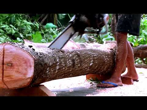 INDONESIAN STYLE WOOD PROCESS