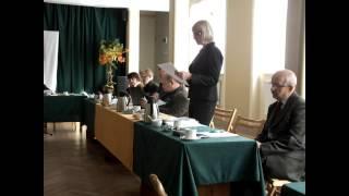 Jeziorany , sesja Rady Miejskiej, 30 października 2013   sprawozdanie burmistrza