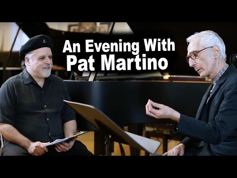 Dave Frank Jazz Master Class - An Evening with Pat Martino