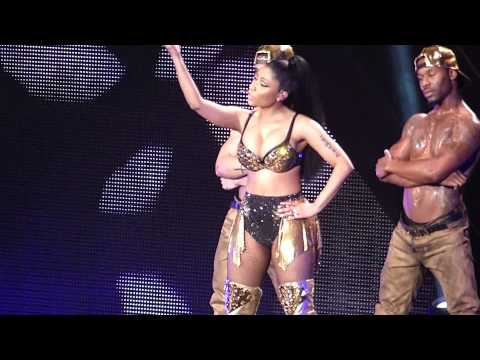 Nicki Minaj Flawless - The Pinkprint Tour O2 Arena London