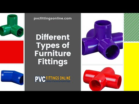 The Different Types Of PVC Furniture Fittings
