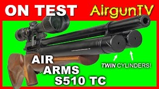 Repeat youtube video REVIEW: Air Arms S510 TC hunting air gun