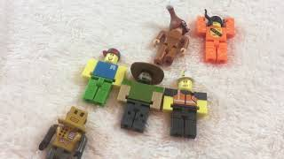 Chilly Kham's Roblox Action Figures Collection