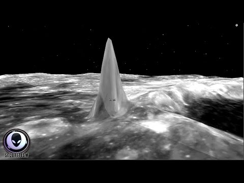 Risultati immagini per GIANT Towers Discovered On The Moon