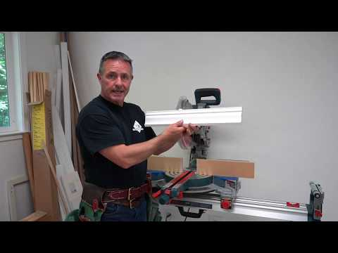 Cutting Crown Moulding-Made EASY!