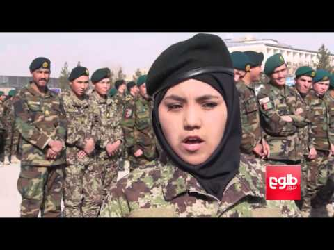 1,700 Officers Graduate From Military Academy In Kabul