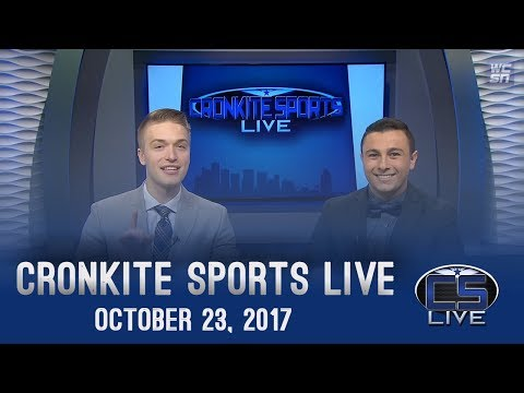 Cronkite Sports Live: October 23, 2017 (S8E7)