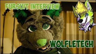 Fursuit Interview With Wolfletech