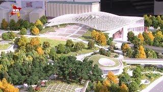 Около Кремля открылся парк «Зарядье»