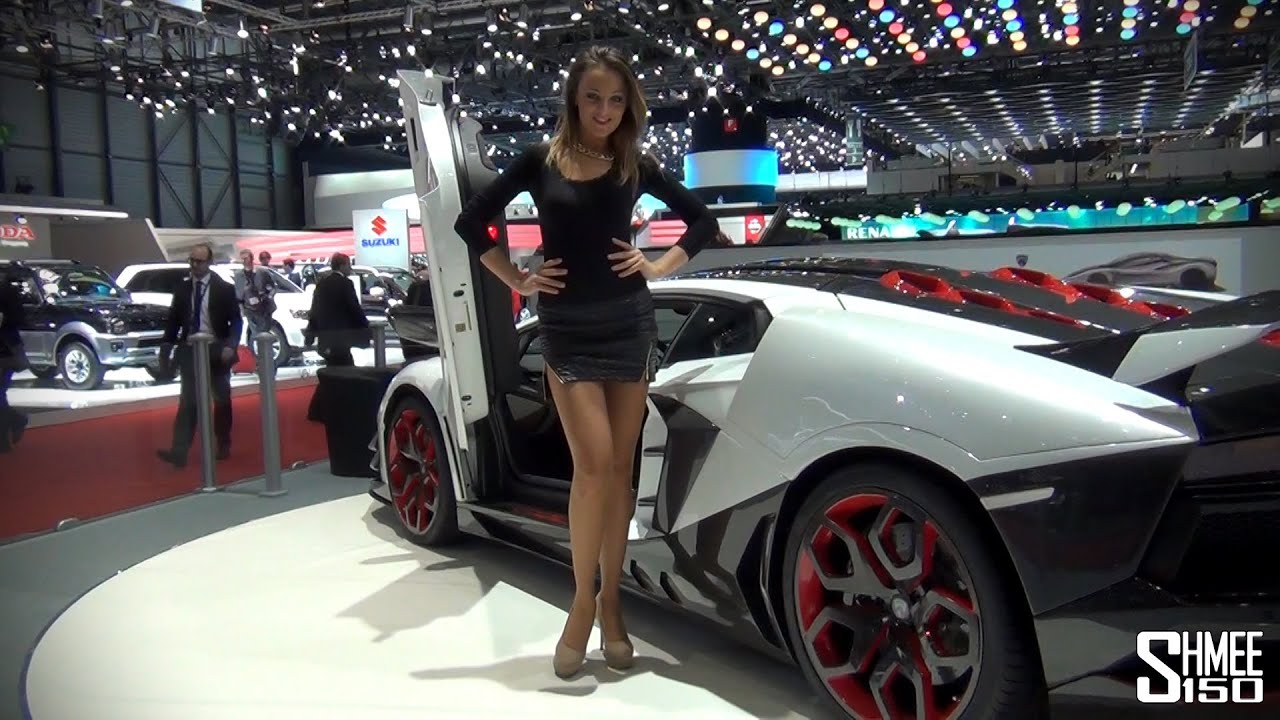 The Girls Of The 2014 Geneva Motorshow Youtube