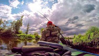 За крупным карасем в рай! Шикарная рыбалка, карась на поплавок .