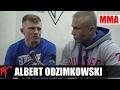 Albert Odzimkowski: moim marzeniem jest UFC
