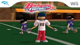 Backyard Football '09 | Dolphin Emulator 5.0-8490 [1080p HD] | Nintendo Wii