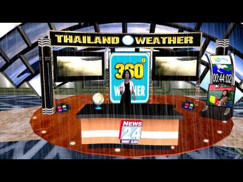 พยากรณ์อากาศ 4 ภาคด้วย  iclone