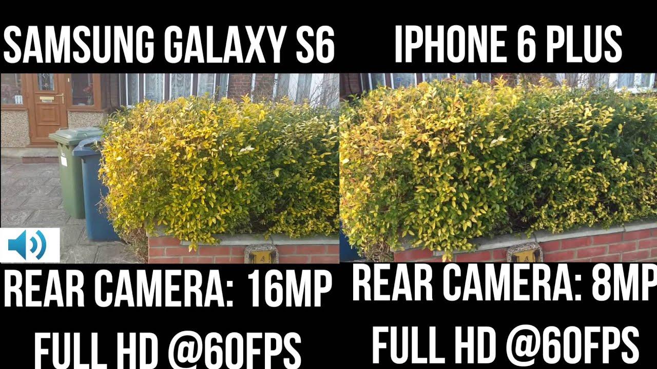 samsung galaxy s6 vs iphone 6 camera. samsung galaxy s6 vs iphone 6 plus: video quality test iphone camera