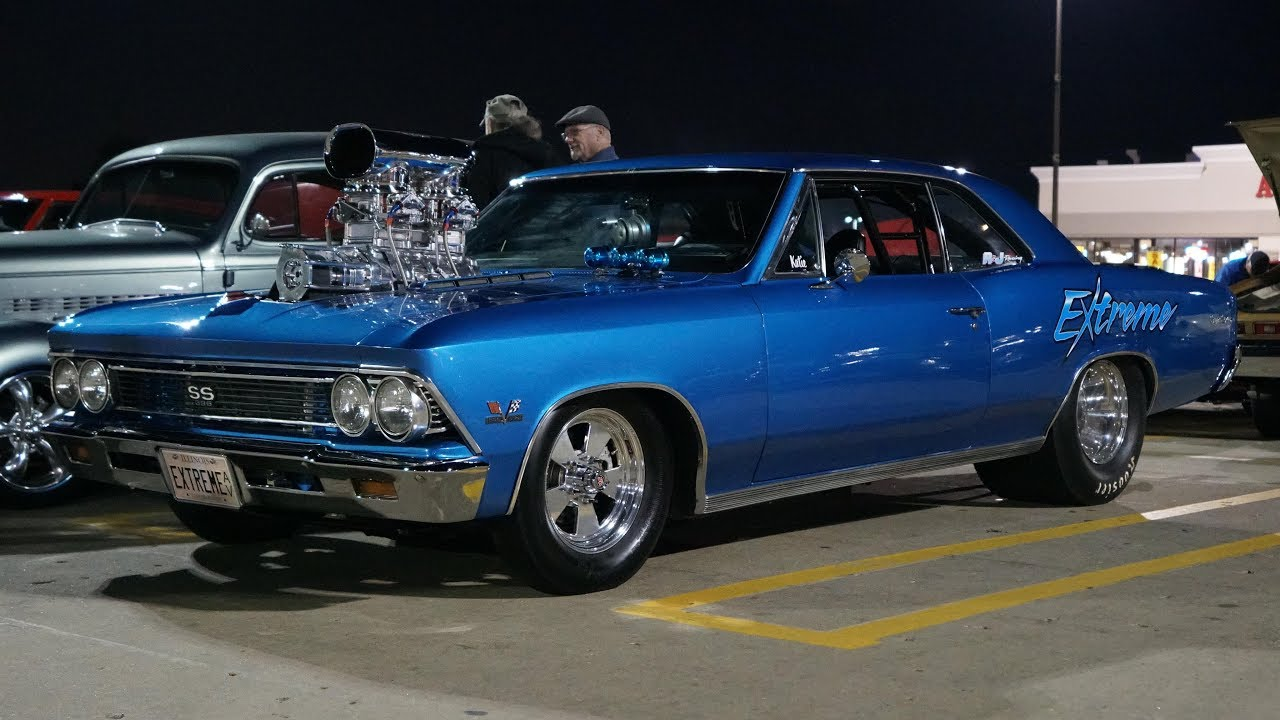 2017 Chevy Chevelle Ss >> 1000hp Supercharged BBC 1966 Chevelle SS With BIG Cam and ...