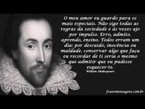 William Shakespeare 20 Frases De Amor Youtube