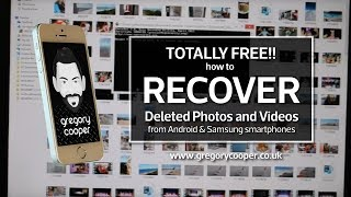 TOTALLY FREE! How to RECOVER DELETED PHOTOS Videos from Samsung ANDROID SD card - Emergency Software