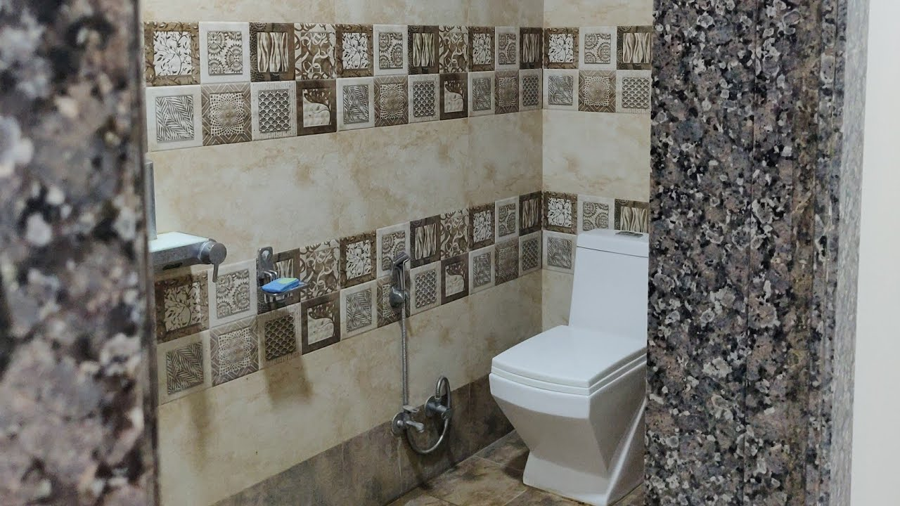Tiles bathroom floor and wall tiles with granite door frame design with price