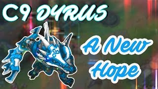 One of Dyrus's most viewed videos: C9 DYRUS - A New Hope ft. meteos, hai, balls, lemon