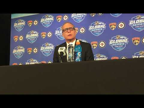 Paul Maurice post-game Friday, Nov. 2