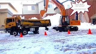 RC ADVENTURES - Belligerent RC Snow Removal - 1/14th Scale Crew