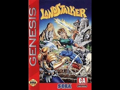 Landstalker Sega Genesis (MegaDrive) Walkthrough (Part 1/5)