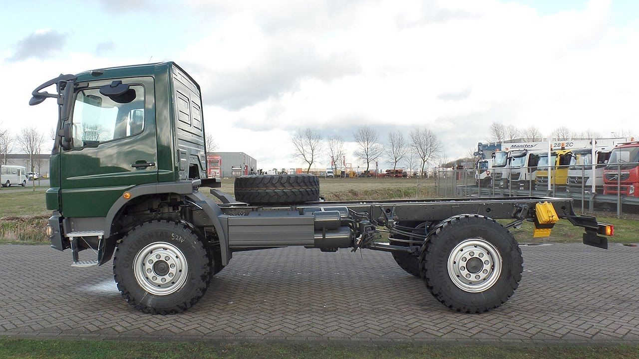 me3902 - Mercedes Atego 1317-A 4x4 RHD chassis cabin - NEW