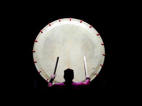 Odaiko drum Solo - WADOKYO - Japanese taiko drummer - Japanese drummers - O-daiko Trommler