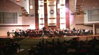 Austin Symphonic Band performing Percy Grainger