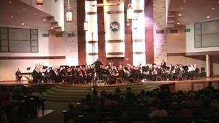 Austin Symphonic Band performing Percy Grainger