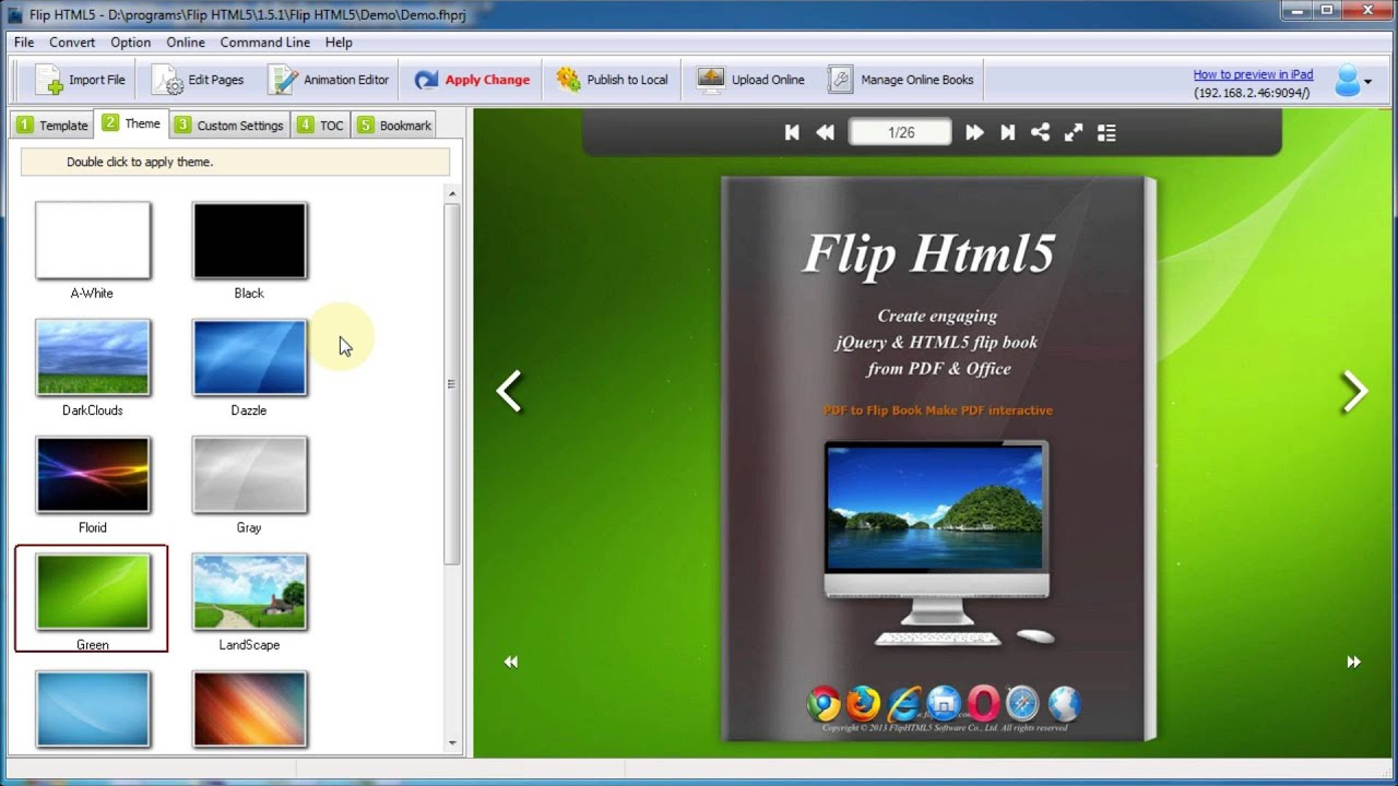 Create A PDF Flip Book with HTML5 -- Create, Share & View Flipbooks Online