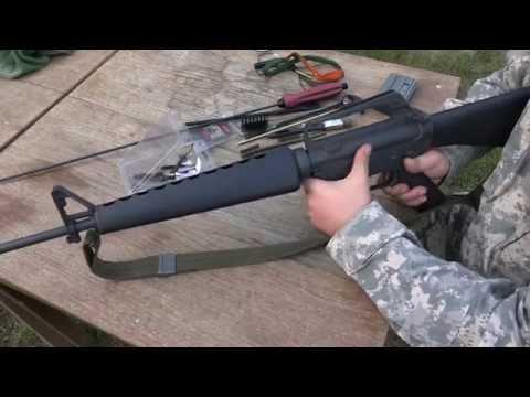 Čištění Zbraní Typu AR-15/M16 - Jak na to - Střelnice HD
