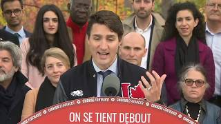 Justin Trudeau on the campaign trail | Day 36