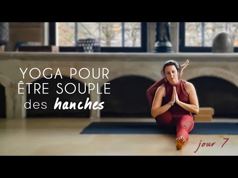 Azeeda Pose De Yoga Mains TL00026104 Serviette dinvit/é