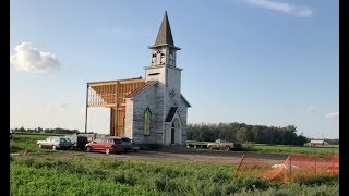 "Movie Set - Stephen King's ""In The Tall Grass"" - Church - July 29, 2018"