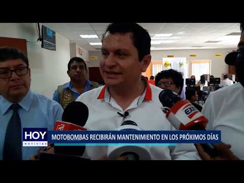 Piura: Motobombas Recibirán Mantenimiento En Los Próximos Días thumbnail