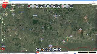 Обзор карты боевых действий 04 09 2014