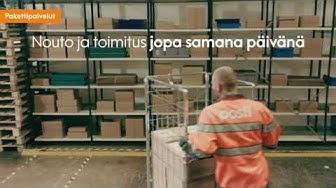 Posti Pakettipalvelut 1 - Helppo lähetys kotimaahan tai ulkomaille