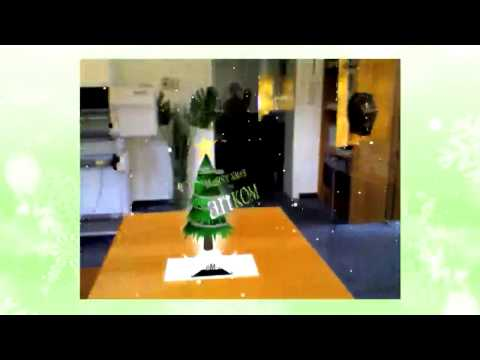 Augmented Reality als Weihnachtskarte / Augmented Reality in a christmas card