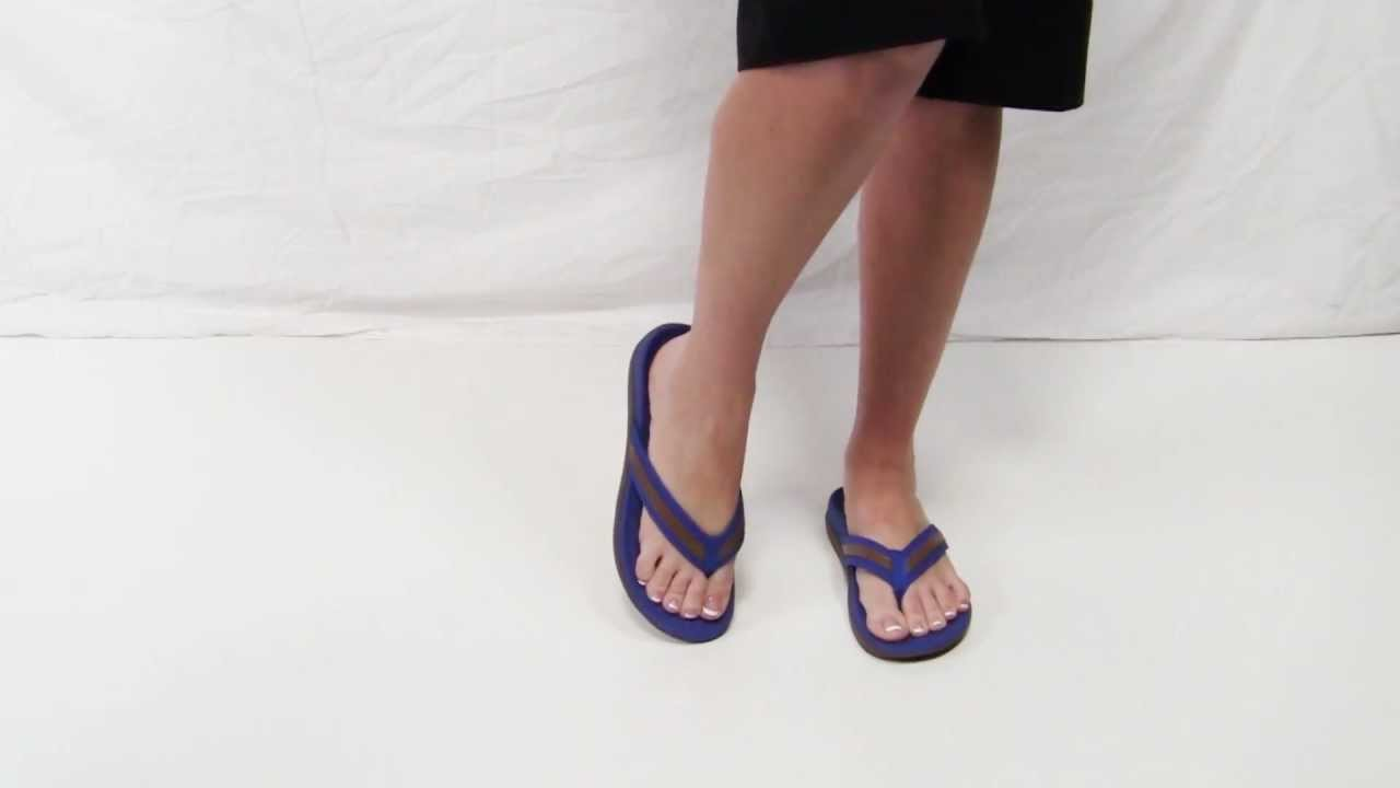 Orthaheel Tide Womens Arch Support Flip Flops - Youtube-1217