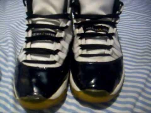3b60e8925b6327 Fake!! Air Jordan 11 DMP - YouTube