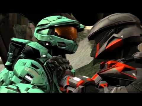 100 Subscribers Special - Red Vs Blue - AMV - Sick Puppies - nightcore You're Going Down